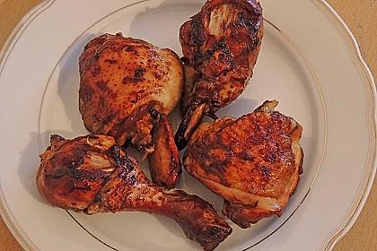 Giggerl oder Hähnchen in Sojasoße