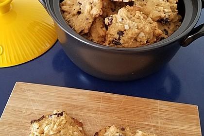 Macadamia - Cranberry Cookies 8