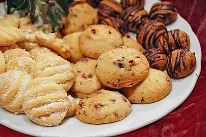 Macadamia - Cranberry Cookies 2