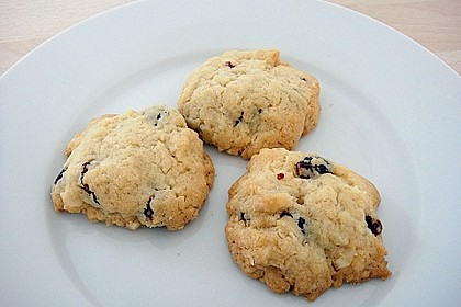 Macadamia - Cranberry Cookies 6