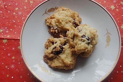 Macadamia - Cranberry Cookies 9