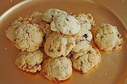 Macadamia - Cranberry Cookies 3