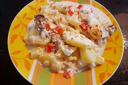 Hackfleisch - Kartoffelauflauf ulilalu 1