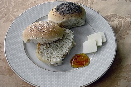 Frühstücks - Brötchen für Morgenmuffel 15