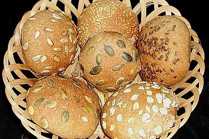 Frühstücks - Brötchen für Morgenmuffel 8