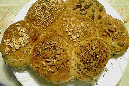 Frühstücks - Brötchen für Morgenmuffel 120