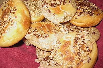 Frühstücks - Brötchen für Morgenmuffel 90