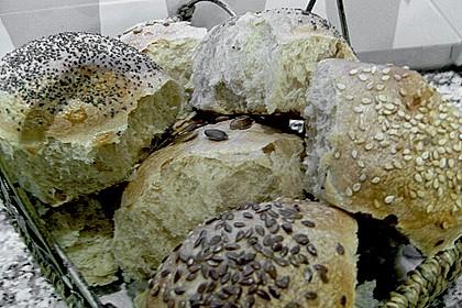 Frühstücks - Brötchen für Morgenmuffel 166