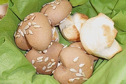 Frühstücks - Brötchen für Morgenmuffel 186