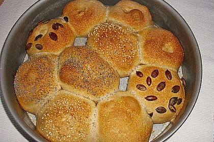 Frühstücks - Brötchen für Morgenmuffel 85