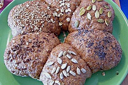 Frühstücks - Brötchen für Morgenmuffel 140
