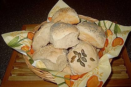 Frühstücks - Brötchen für Morgenmuffel 128