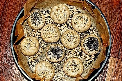 Frühstücks - Brötchen für Morgenmuffel 180