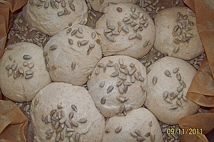 Frühstücks - Brötchen für Morgenmuffel 175