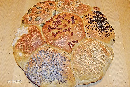 Frühstücks - Brötchen für Morgenmuffel 89