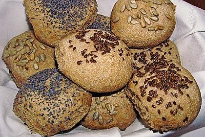 Frühstücks - Brötchen für Morgenmuffel 53