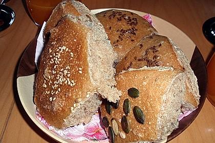 Frühstücks - Brötchen für Morgenmuffel 83