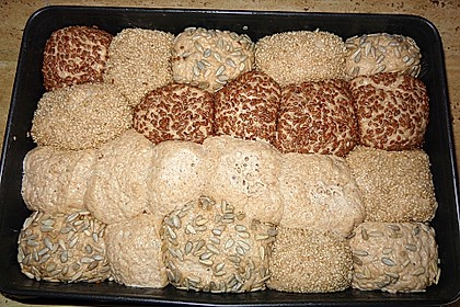 Frühstücks - Brötchen für Morgenmuffel 123