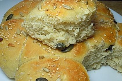 Frühstücks - Brötchen für Morgenmuffel 56