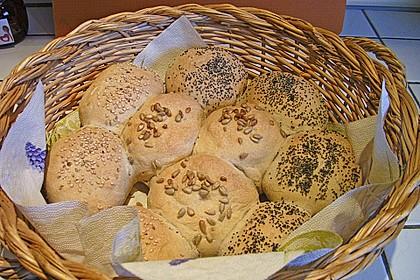 Frühstücks - Brötchen für Morgenmuffel 46