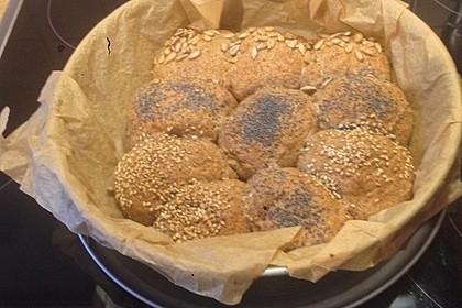 Frühstücks - Brötchen für Morgenmuffel 124