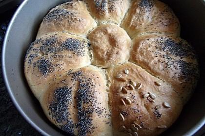 Frühstücks - Brötchen für Morgenmuffel 96