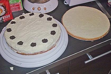 Schokoladen - Buttercreme - Torte 10