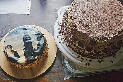 Schokoladen - Buttercreme - Torte 12