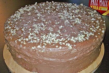 Schokoladen - Buttercreme - Torte 14