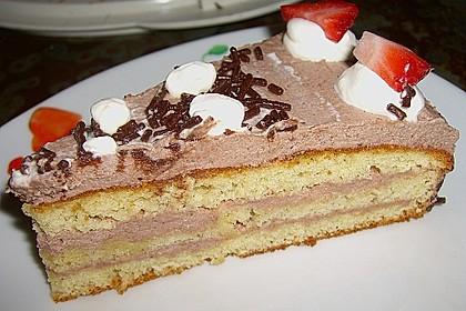 Schokoladen - Buttercreme - Torte 4
