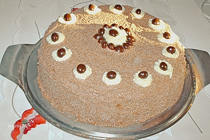 Schokoladen - Buttercreme - Torte 16