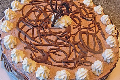 Schokoladen - Buttercreme - Torte 13