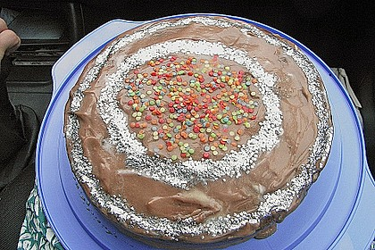Schokoladen - Buttercreme - Torte 9
