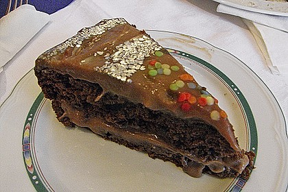 Schokoladen - Buttercreme - Torte 17