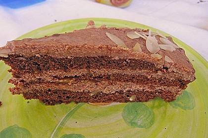 Schokoladen - Buttercreme - Torte 7