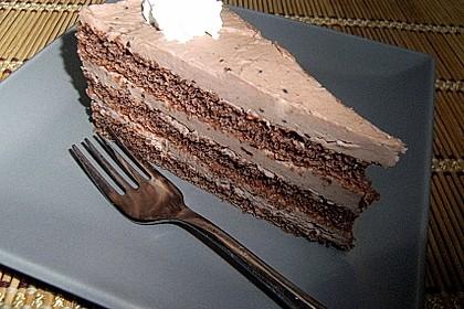 Schokoladen - Buttercreme - Torte 8