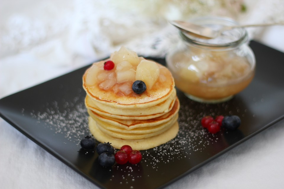 american pancakes rezept mit bild von hannah kocht. Black Bedroom Furniture Sets. Home Design Ideas