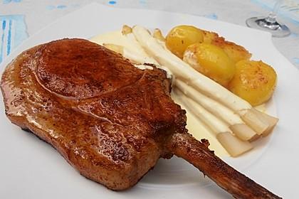 Tomahawk-Steak im Backofen (Bild)