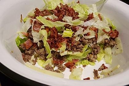 Big Mac Salat Low-Carb 25