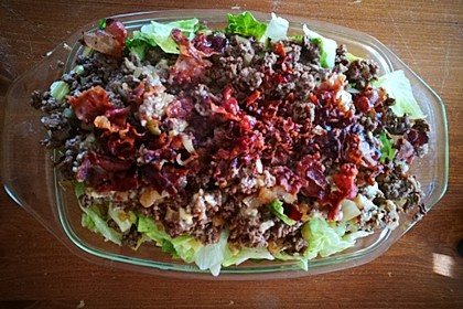 Big Mac Salat Low-Carb 21