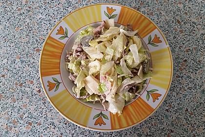 Big Mac Salat Low-Carb 16