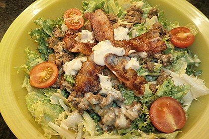 Big Mac Salat Low-Carb 17