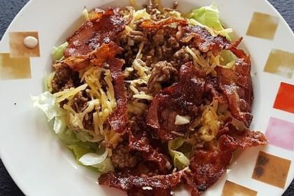 Big Mac Salat Low-Carb 20