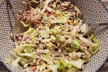 Big Mac Salat Low-Carb 24