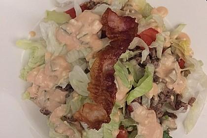 Big Mac Salat Low-Carb 32