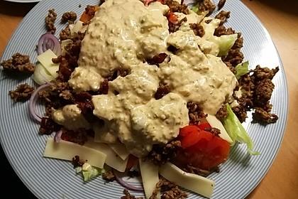 Big Mac Salat Low-Carb 33