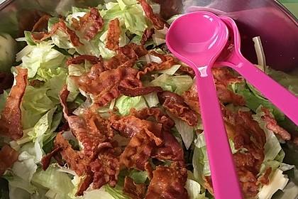 Big Mac Salat Low-Carb 8