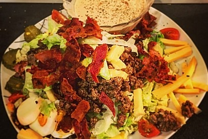 Big Mac Salat Low-Carb 31