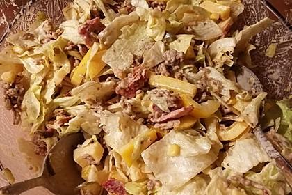 Big Mac Salat Low-Carb 34