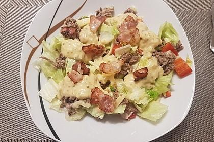 Big Mac Salat Low-Carb 1